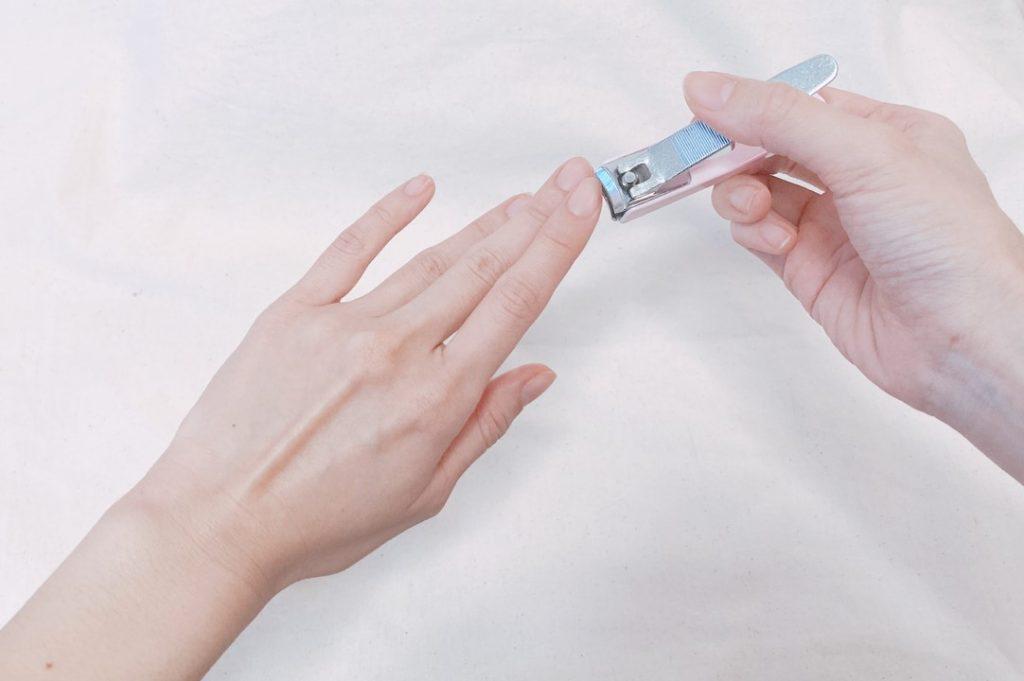 清潔感のある爪