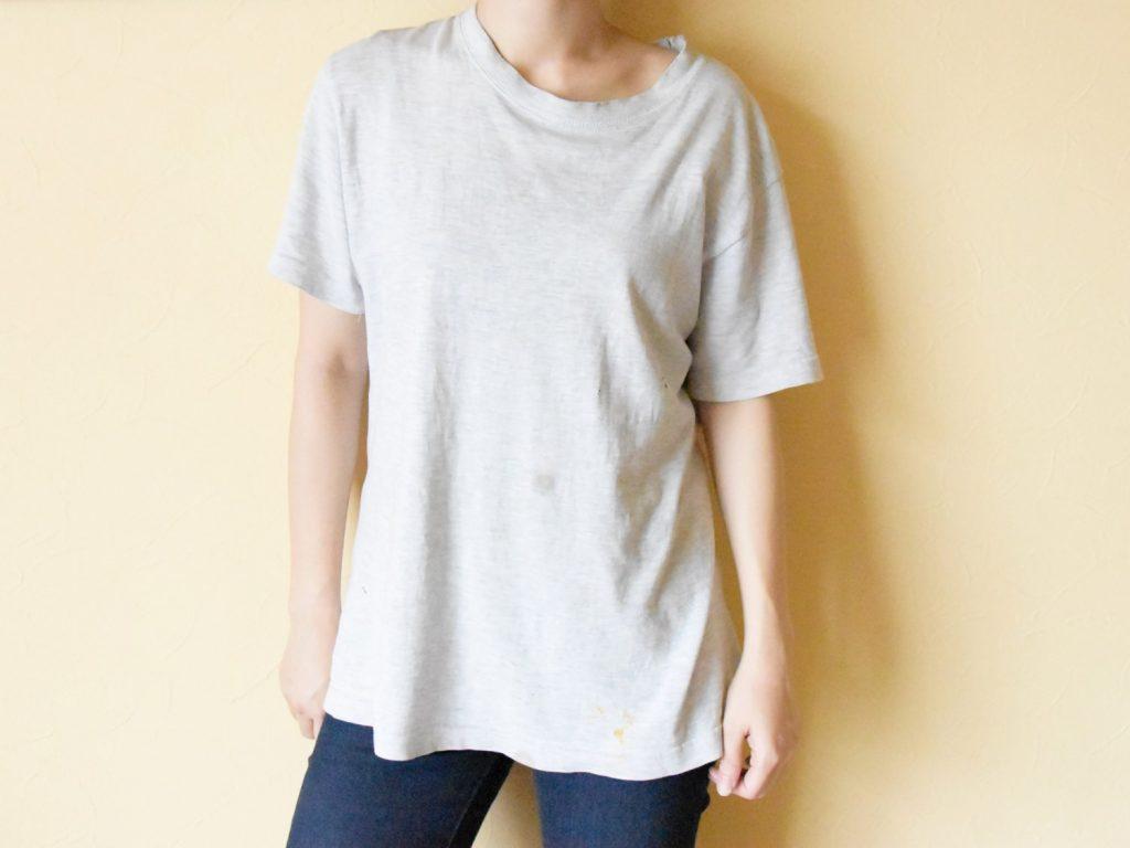清潔感のないTシャツ